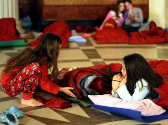Pizsamaparti Da Vincivel Mátyás udvarában 27c1b00a5f